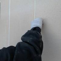 新しくコーキングを塗布し止水途中てす!しっかりした材料を手順通りに施工して行きます!
