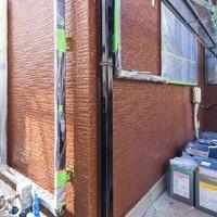 雨樋の塗装も終わりきれいになりました。 しっかり塗り重ねてあります!